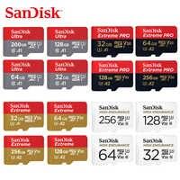 SanDisk Speicher Karte 32GB 64GB 128GB 256GB 512GB MicroSD Karte SDHC/SDXC Class10 TF karte für Video Überwachung Smartphone Drohnen
