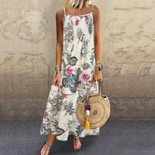 Mini Dress Womens Elegant Beach Casual Fashion Summer Sleeveless Loose Solid -45 Pocket