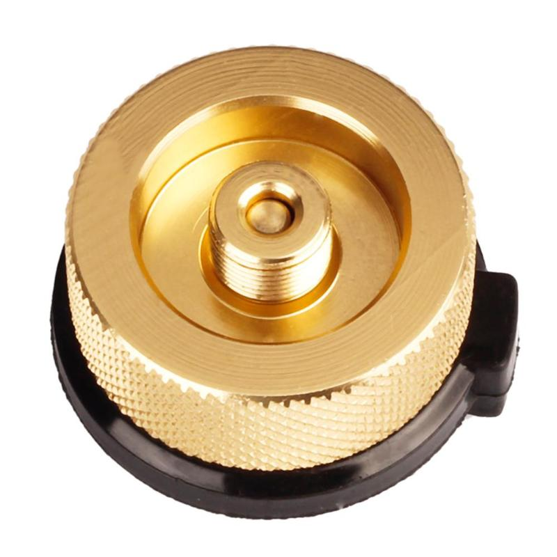 Converter Multi-function Delicate Design Auto-off Aluminum Alloy Stove Connector Adapter Gas Tank Furnace Converter