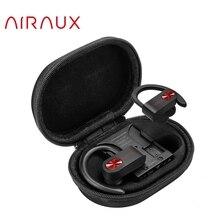 BlitzWolf AIRAUX AA UM2 TWS Sport bluetooth5.0 słuchawki zaczep na ucho Stereo HiFi sportowe słuchawki douszne z warkoczem śnieg Cancas etui z funkcją ładowania