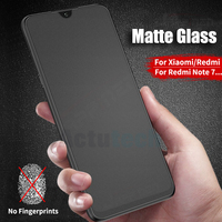Matte Frosted Gehärtetem Glas Für Xiaomi Redmi Hinweis 10 pro max 10s 9s Max 8T 7 6 pro Mi 9 8 SE 6X a2 5x a1 Screen Protector Film