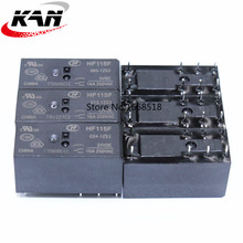 10pcs Relay HF115F 005 1ZS3 HF115F 012 1ZS3 HF115F 024 1ZS3 250V 16A relay 8 pin relay 5V/12V/24VDC relay