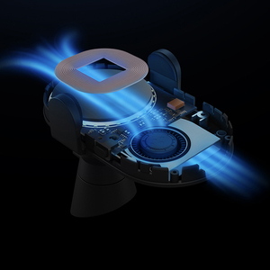 Image 4 - Xiao mi mi 20W Max Qi chargeur de voiture sans fil WCJ02ZM pincement automatique avec capteur infrarouge Intelligent charge rapide support pour téléphone de voiture
