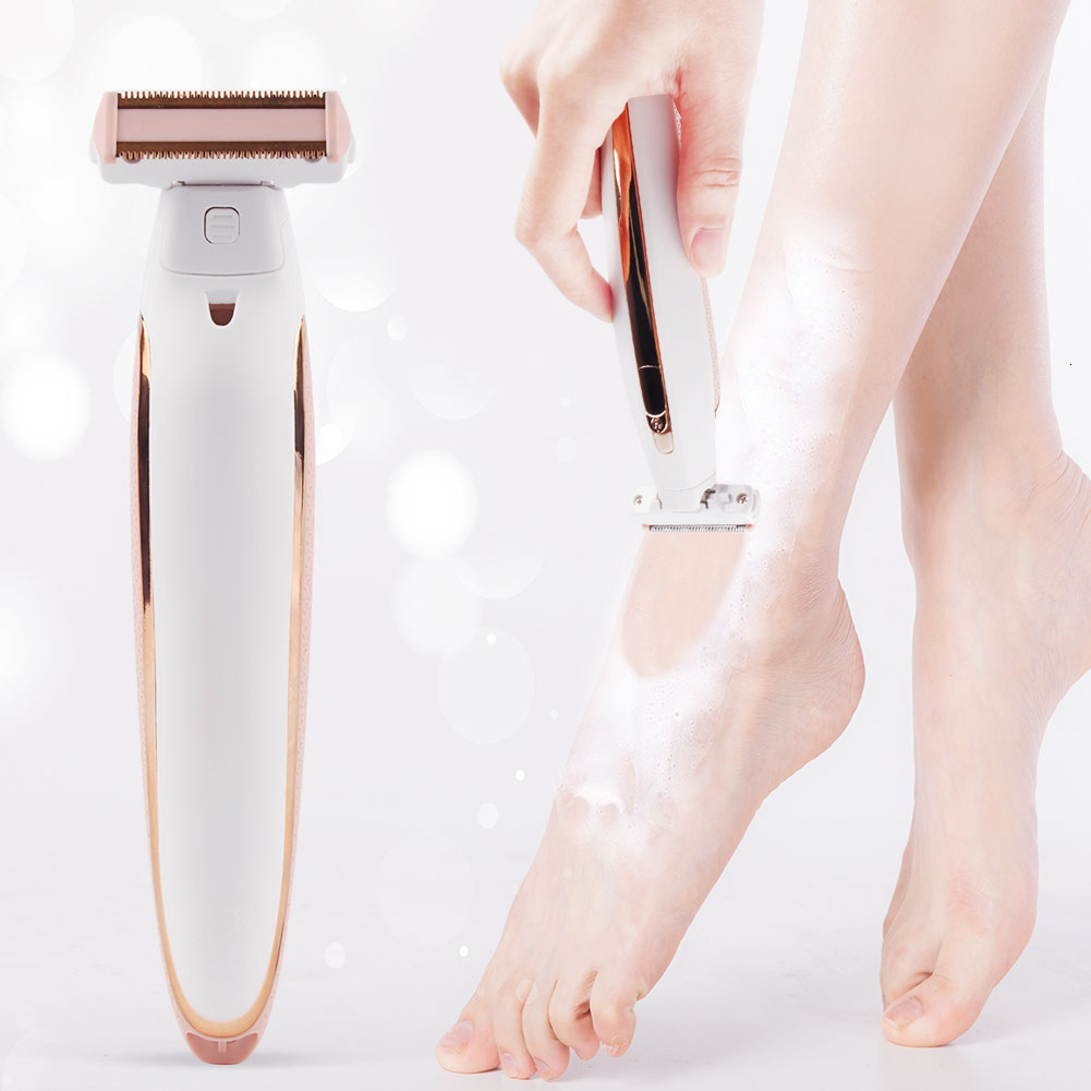 6 In 1 Women Electric Female Bikini Trimmer Body Facial Hair Removal Shaver Set Beard Razor Party Gift For Guest Dropshipping
