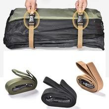 Einstellbare Reise Gepäck Schnallen Riemen Lagerung Gebunden Gürtel Camping Outdoor Camping Güter Tragbare Outdoor Elemente