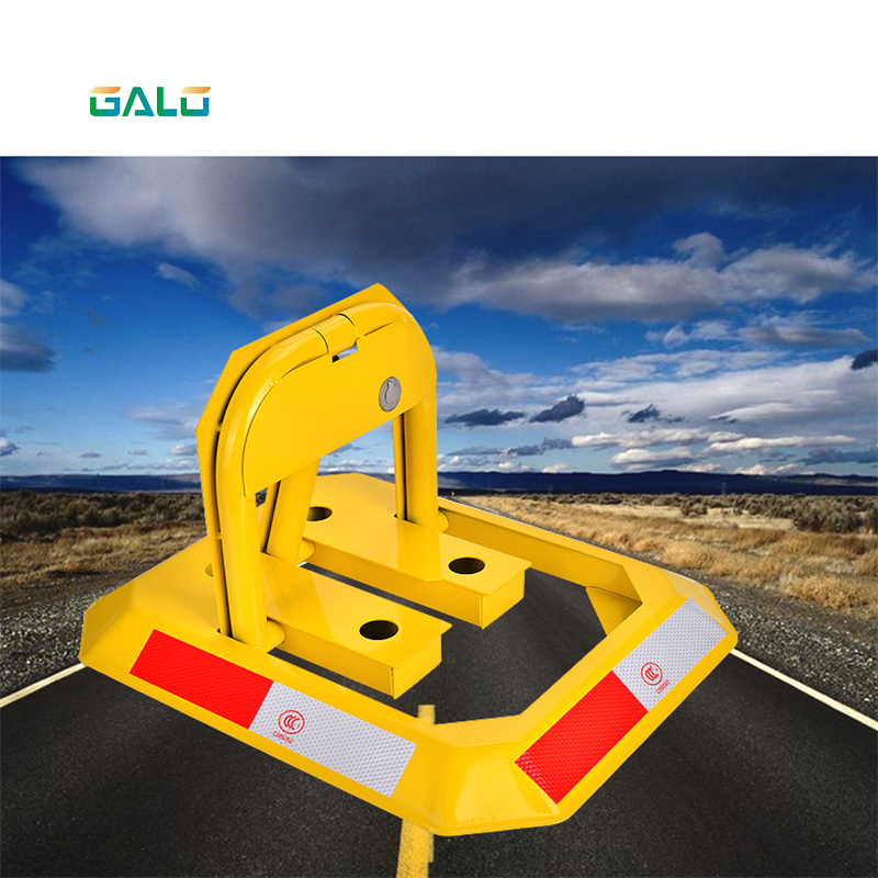 Manual Parking Barrier Parking Lock / Hand Operated No Parking Lok Bollard Post Anti-Hit Car Parking Barrier Lock