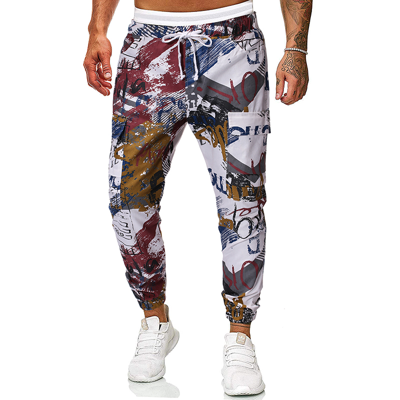 Cargo Pants Men's Pants Hip Hop Pants Camouflage Pants For Men Trousers Punk Harem Fashion Casual SweatpantsTJWLKJ