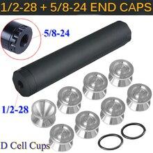 Vehemo 14 шт. 5/8-24 1/12-28 топливный растворитель для фильтра топливная ловушка растворитель фильтр D ячейки стаканы для хранения стабильный автомобильный фильтр