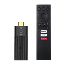 MECOOL KD1 Android 10.0 Smart TV Stick procesor Amlogic S905Y2 Dongle TV UHD 4K odtwarzacz multimedialny 2GB/16GB 2.4G/5G WiFi z pilotem
