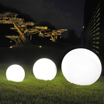 Outdoor Remote LED Garden Ball Lights Garden Decorative Lights Underwater Lights
