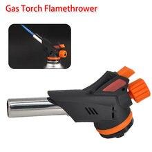Auto Ontsteking Lichter Gun Flame Aansteker Lassen Gas Torch Gun Gas Butaan Blow Brander Flamethrower Voor Taarten Bakken/Dooi/Grill