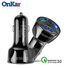 Onkar адаптер для автомобильного прикуривателя qc30 автомобильное