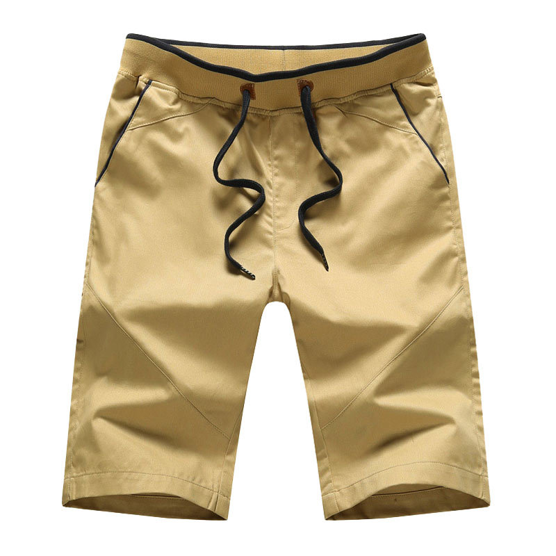 Shorts Men's Fashion Shorts Summer Shorts Men Loose Casual Versatile Students Capri Pants Pure Cotton Beach Shorts