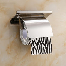 Concise Wall Mount Toilet Paper Holder Bathroom Fixture Stai