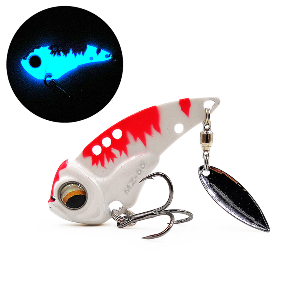 MZ55 55mm vibe blade bass vibration vib 13g lure metal for baits fishing sinking pike perch artificial