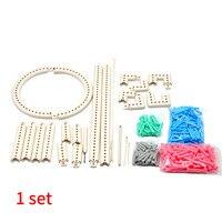 Accessories Knit Weave Loom Kit Craft Yarn Scarf ABS Shawl Multifunction Knitting Board Crochet Home Adjustable Sewing DIY Tool