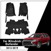 Автомобильные коврики для Mitsubishi Outlander 5 мест 2019 2018 2017 2016 2015 2014 2013 авто интерьерные ковры напольные вкладыши аксессуары