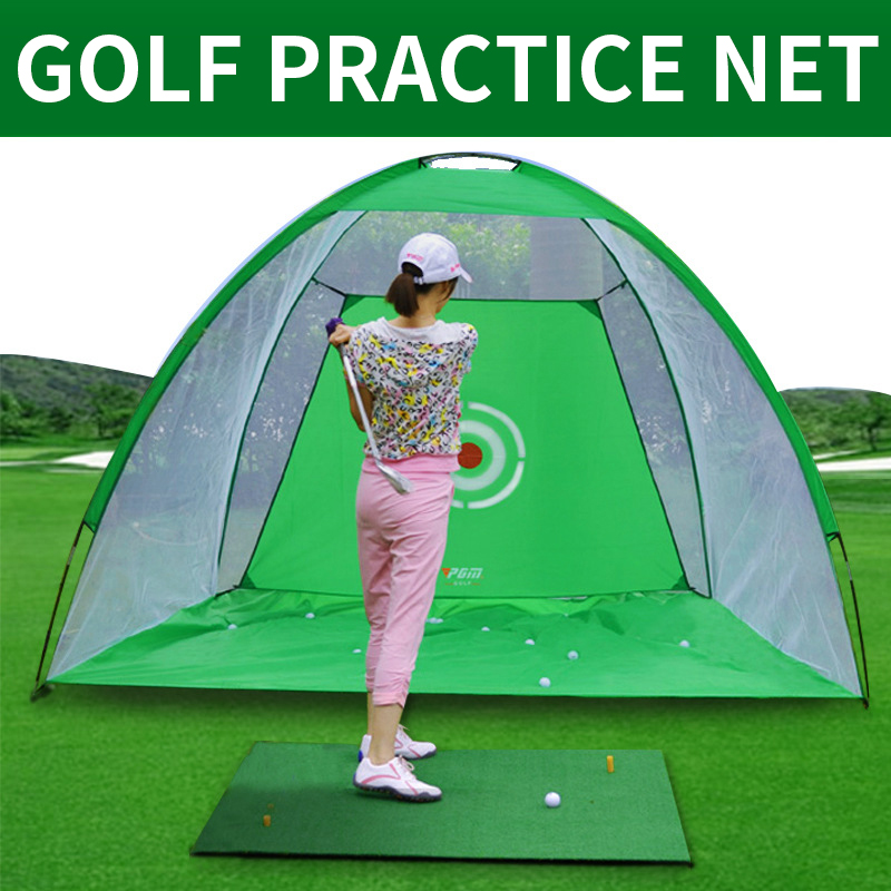 3M Golf Practice Nets Indoor Golf Practice Equipment Golf Batting Cage Portable Collapsible Kids / Adult Golf Contact Tools Hot