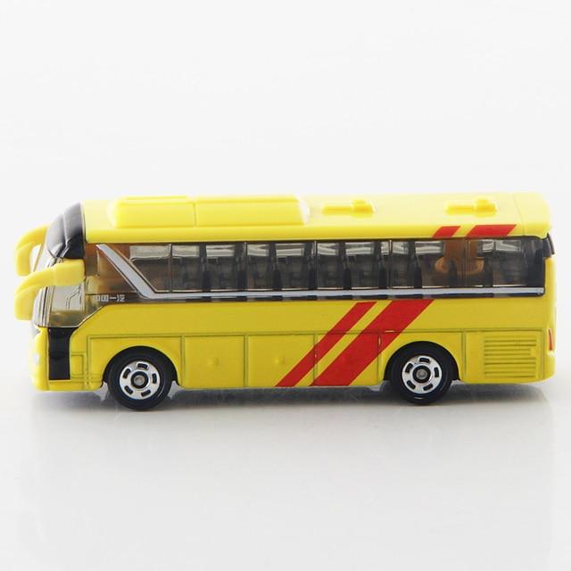 S10 Takara Tomy Tomica CN-15 FAW JIEFANG KE CHE autobús amarillo 1/164 de fundición modelo de coche