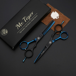 Image 2 - Japan Original 5.5 6.0 Professional Hairdressing Scissors Professional Barber Scissors Set Hair Cutting Shears Scissor Haircut