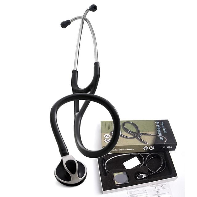 Professionelle Nette Klinische Akustische Herz lunge Blutdruck Stethoskop Kardiologie Medizinische Estetoscopio für Ärzte Krankenschwester