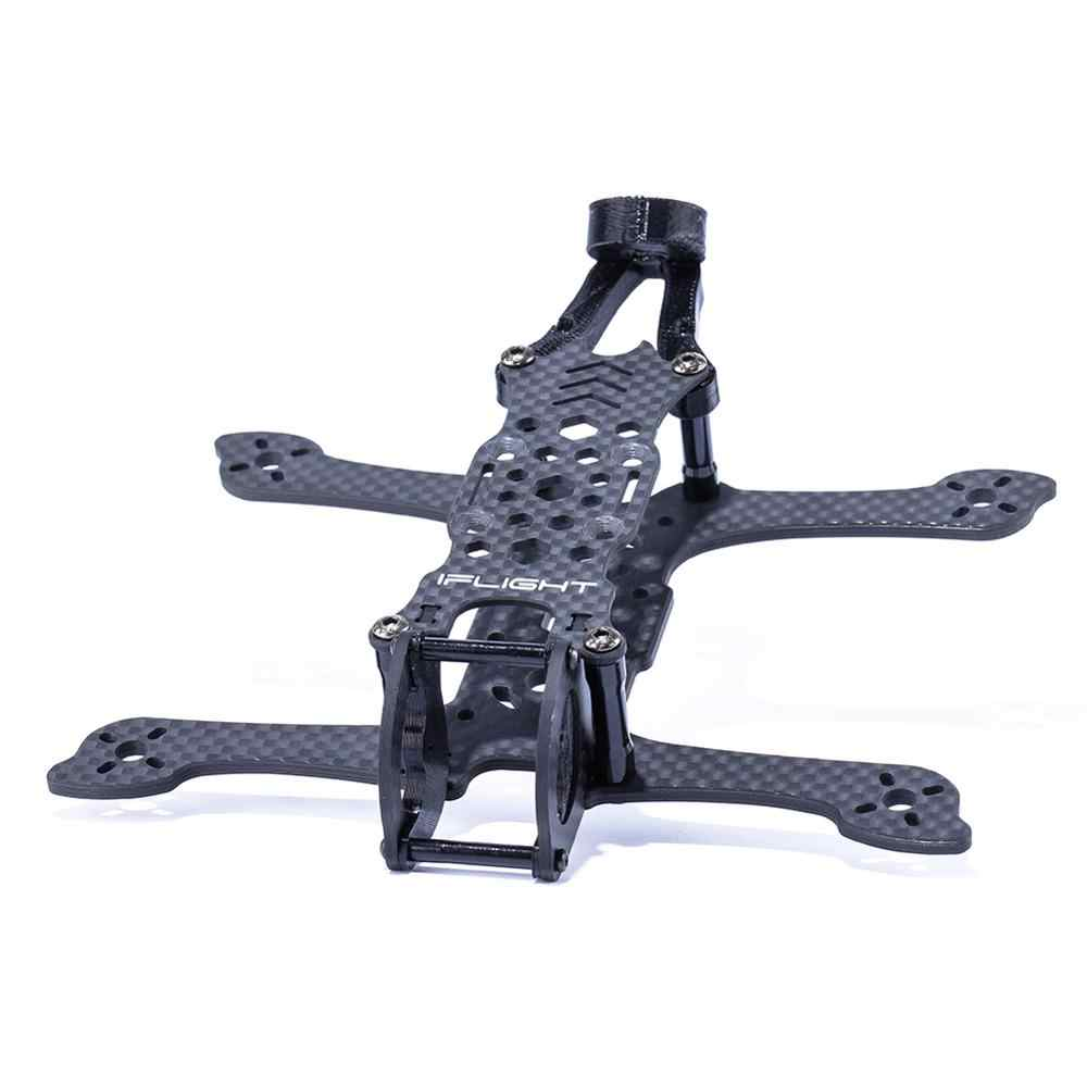 IFlight karbon Fiber iH3 V3 142mm 3 inç FPV çerçeve 3mm kolu uyumlu 1106 motor/3 inç pervane FPV kapalı drone bölüm