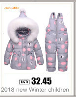 H0c8438bbbbbd40dd8639e70fd3f0d329V Baby boy girl Clothes 2019 New born Winter Hooded Rompers Thick Cotton Outfit Newborn Jumpsuit Children Costume toddler romper