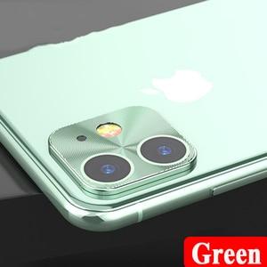 Image 4 - カメラレンズ保護リング Iphone 5 11 プロ強化ガラス 11Pro 最大 2019 電話金属合金電話バックプロテクター