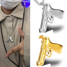 Acessórios de moda de metal pingentes colares de hip hop colar de metal