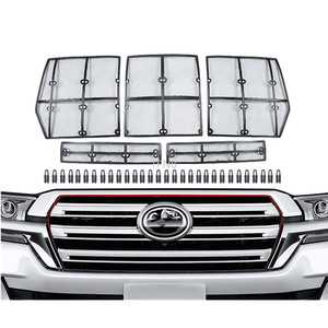 Image 1 - Auto Voor Grill Insect Net Voor Toyota Land Cruiser 200 LC200 Fj200 2008 2009 2010 2011 2012 2013 2014 2015 2016 2017 2018