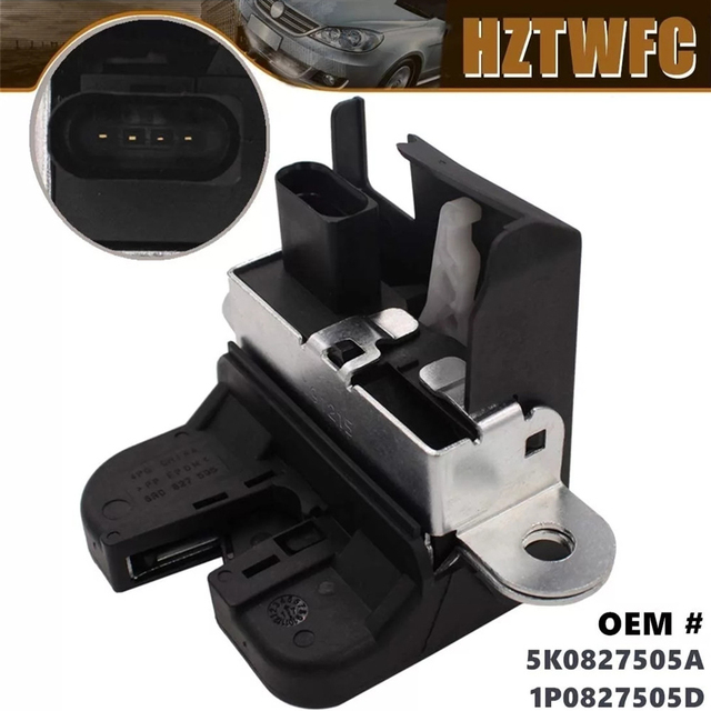 5K0827505A 1K6827505E 5M0827505E 1P0827505D אחורי תא מטען מנעול מכסה נעל נועל פולקסווגן גולף MK5 גולף GTI גולף MK6 עבור מושב ליאון