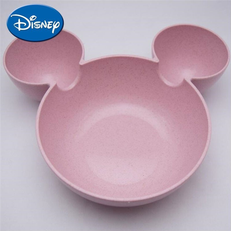 DISNEY Lovely Cartoon Mesh Division Small A Children Rice Bowl Originality Household Tableware Vinegar Dish To Flavor Dish Plate