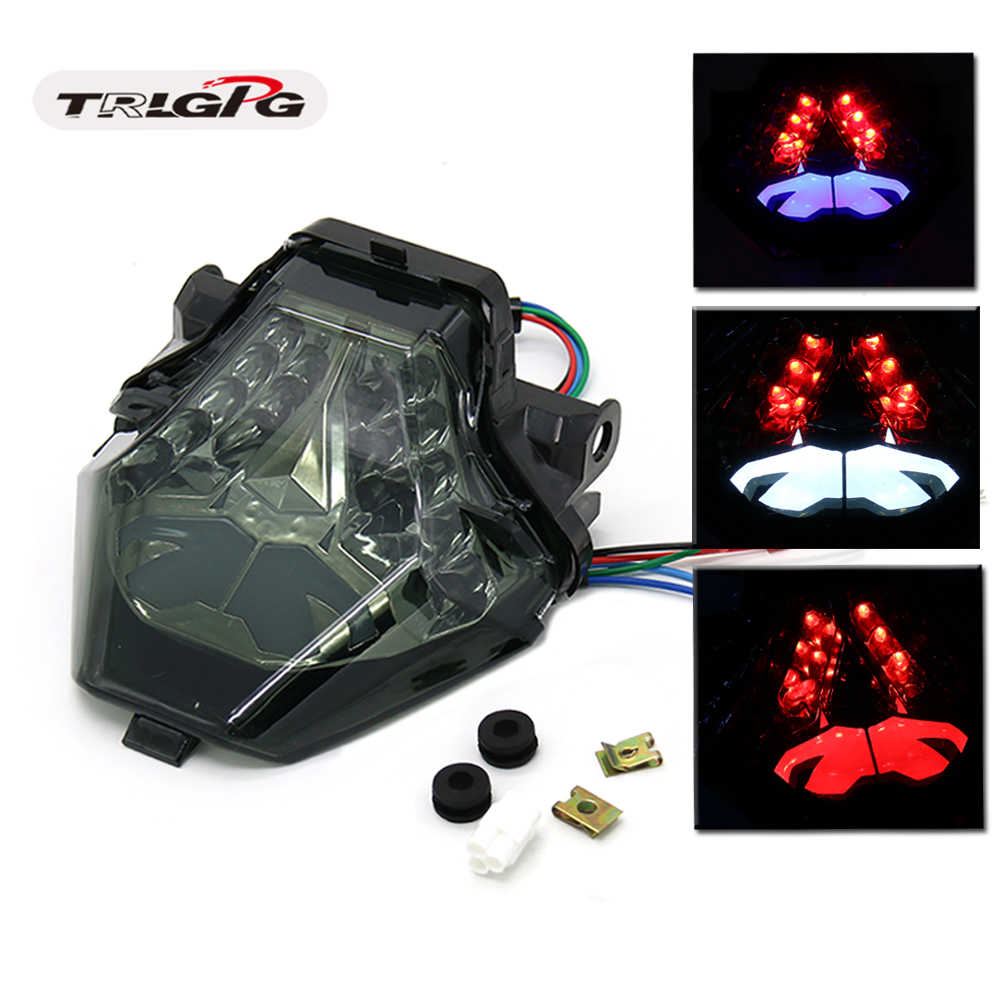 LED Rear Flashing Running Light Stop Brake Flashing Rear Light Flashing Flashing ForYamaha R3 R25 MT07 MT-07 MT 07 MT25 MT03