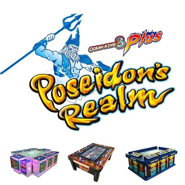 Ocean King 3 Poseidon's Realm Fish Game Table Gambling Machine Mutha Goose System Supported 1