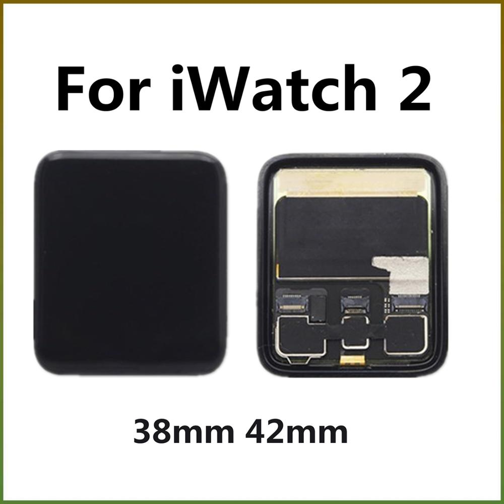 For Apple Watch Series 2 LCD Display 38mm 42mm S2 A1757 A1758 A1816 A1817 LCD Touch Screen Digitizer Assembly Replacement Parts image