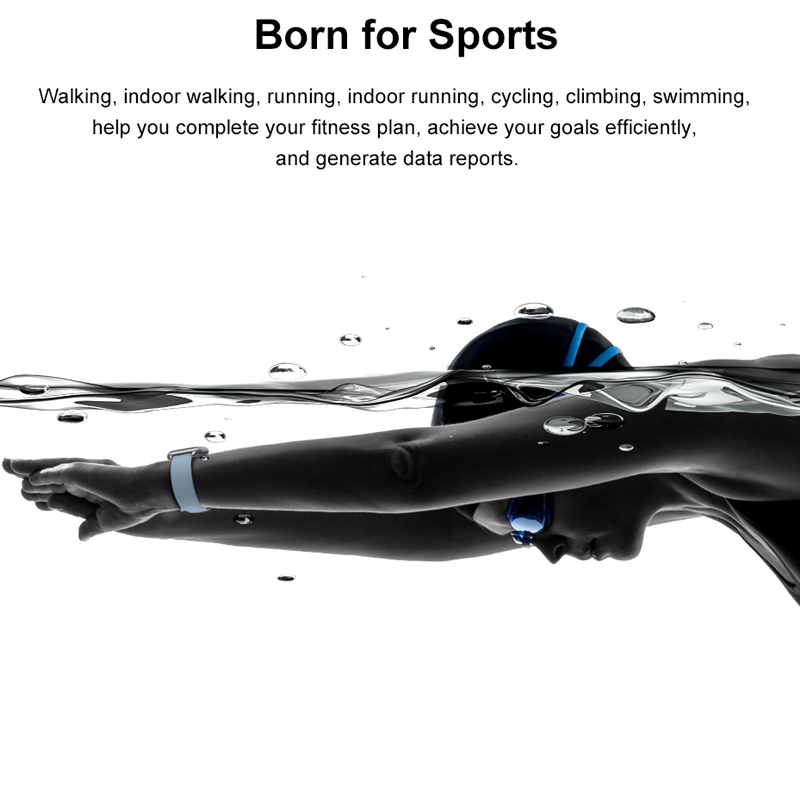 Tiso w37 Bluetooth smart watch band 1.3 inch screen sport sleep heart rate fitness blood pressure oxygen tracker IP68 waterproof 4