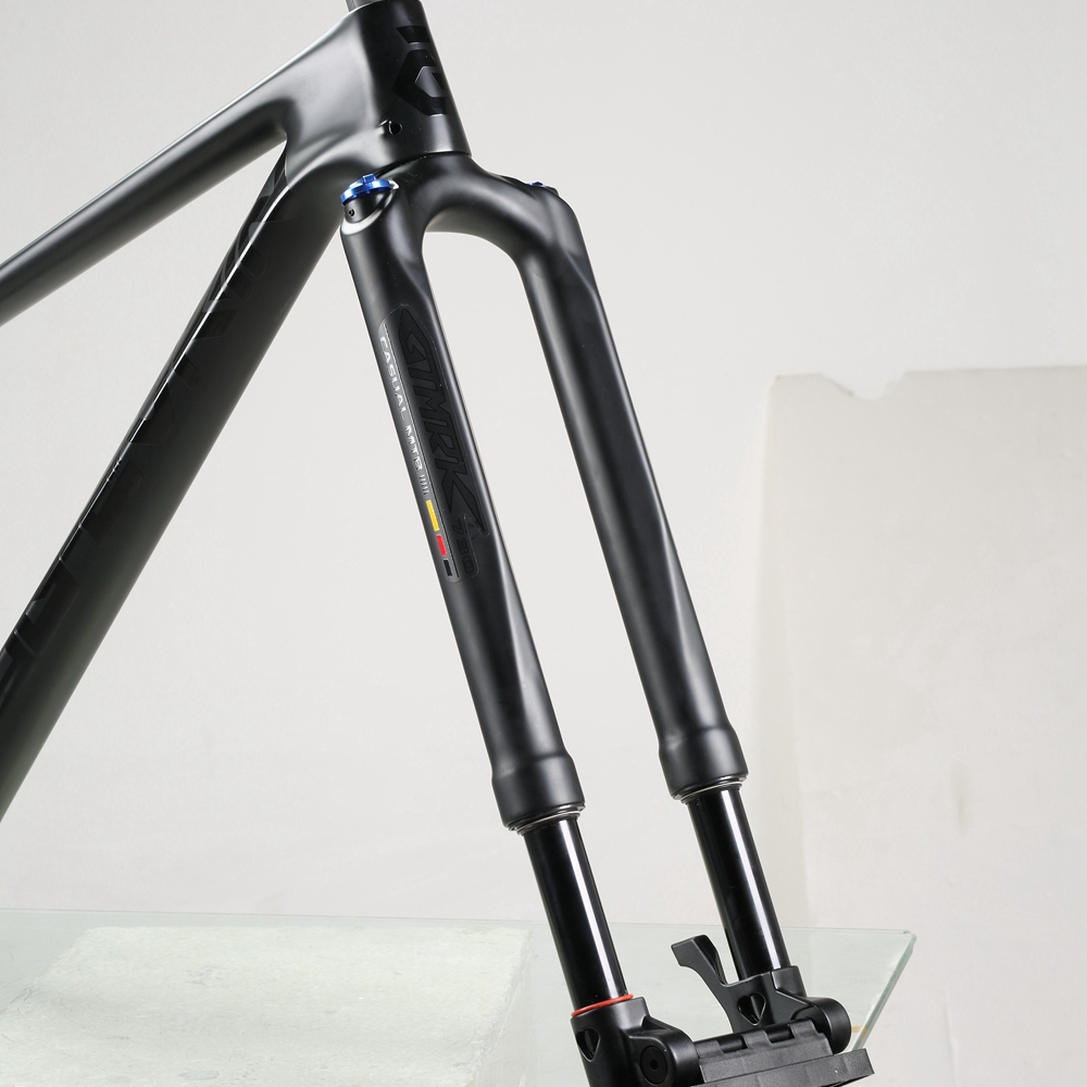 Racework RS1 ACS Solo Air <font><b>29</b></font> 100 Predictive Steering Suspension Bicycle carbon Fork with Accelerator image