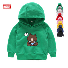 2019 Print Boys Hoodies Sweatshirts for Kids Winter Long Sleeves Boy Girl Casual Cotton Children 2T-8T