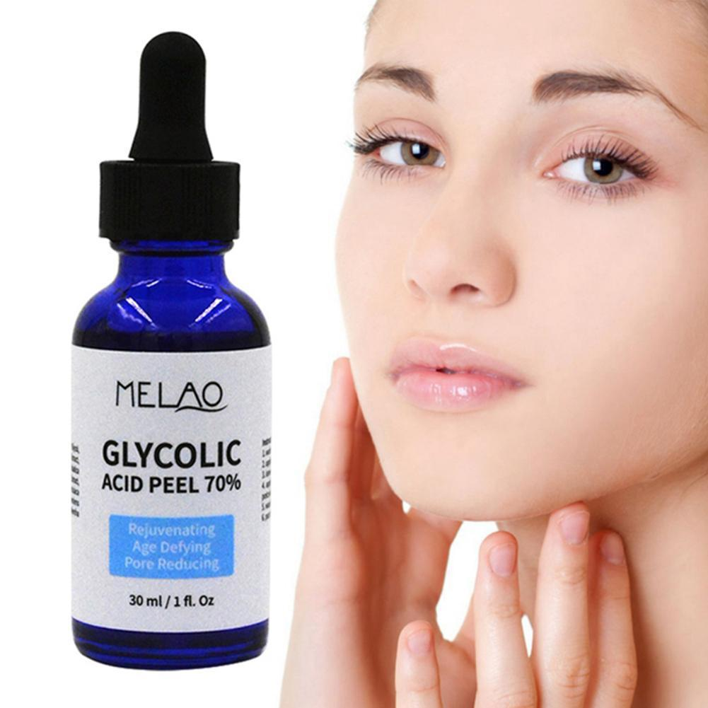 30ml Glycolic Acid Peel Balance Water And Oil Shrink Improve Brighten Solution Nourishing Pores Skin Color Repair Acne Skin