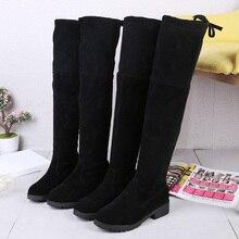 Г., новые зимние женские однотонные повседневные ботинки с круглым носком Модные теплые и удобные бархатные ботинки, j95