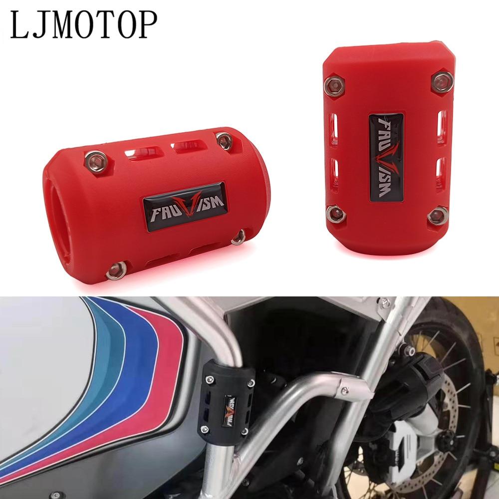 オートバイエンジンガードバンパー保護装飾ブロック Bmw R1200GS R12500GS R1150GS R1100GS F800GS F650GS HP2 冒険
