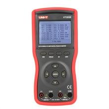UNI-T UT265B Auto Double Clamp Digital Phase Meter VA Volt Ammeter Power Factor Tester Power Meter w/FRS-232 & LCD Backlight