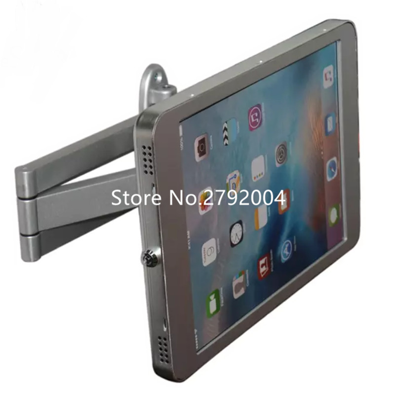 Retractable Tablet Frame Secure Metal Holder For Ipad Pro 12.9
