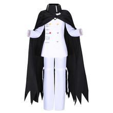 Danganronpa V3: Killing Harmony Ouma Kokichi Cosplay Costume Adult Women Men XS-XL Stock JK Uniform Jacket Pants scarf Halloween