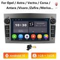 Android10 Car Radio Multimedia Stereo Player For Opel Astra Antara Vectra Corsa Zafira Meriva Vivaro Signum Navigation GPS 2 Din