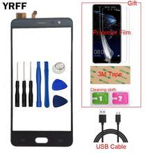 Téléphone portable avant tactile pour Cubot guépard 2 écran tactile en verre numériseur panneau lentille capteur capacitif gratuit protecteur Film bande