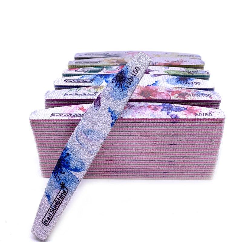 50pc-lime-a-ongles-papier-de-verre-fort-lavable-ongles-tampon-bloc-80-100-150-180-240-320-grain-lime-a-ongle-manucure-fichier-fleur-imprime