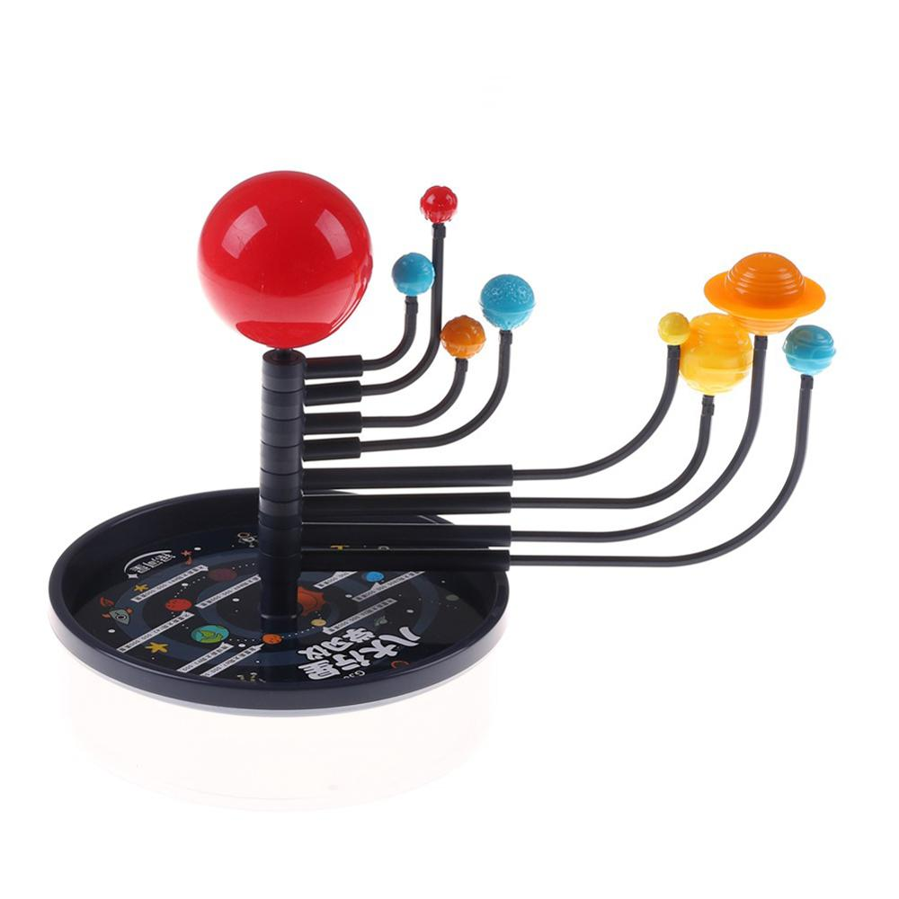 Solar System Education Tecnologia DIY Eight Planets Science Toys Planetarium Model Assembling Teaching Aid Kid Toys For Children
