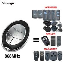 HORMANN 868 MHz Remote Control Berner BHS211 BHS153 BHS110 BHS140 Garage Door Opener MARANTEC 868.35MHz Command Clone 2021 New