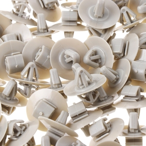 Image 2 - 2020 Nieuwe 100Pcs Clips Voor Renault Trafic Traffic Side Moulding Lagere Bescherming Portierbekleding